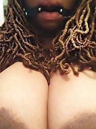 Black, Black amateur tits
