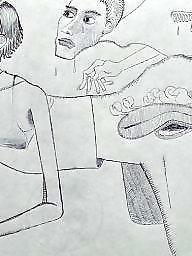 Cartoon, Draw, Drawings, Drawing