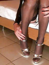Nylon, Heels, Amateur black