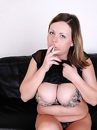 Smoking, Mature smoking, Mature femdom, Femdom mature, Mature big tits, Mature tits