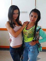 Teen, Jeans, Tights, Latin, Tight