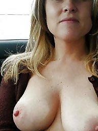 Car, Mature boobs, Women, Mature car, Cars, Big mature