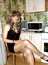 Crossdresser, Crossdress, Crossdressers, Crossdressing, Upskirt flashing, Upskirt stockings