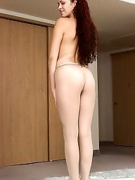 Pantyhose, Mature pantyhose, Shower, Pantyhose mature