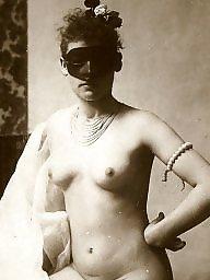 Vintage, Lady, Mask, Vintage amateur