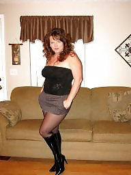 Boots, Mature boots, Mature stockings, Tights