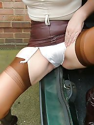 Leather, Mature stockings, Mature leather, Uk mature, Mature stocking, Mature uk