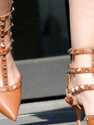 Feet, Mature feet, Candid