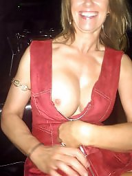 Dress, Flashing, Red, Public flash