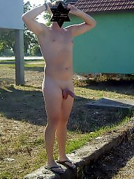 Naked, Outdoors, Public amateur