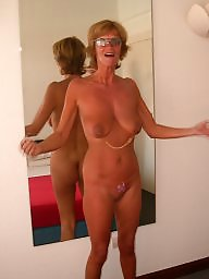Nudist, Wife, Nudists, Mature big tits, Big mature tits