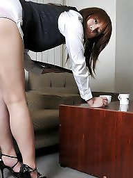 Japanese, Office, Ladies, Asian tits