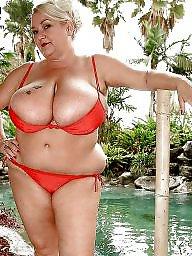 Bikini, Beach, Ssbbws, Bbw bikini, Bbw beach
