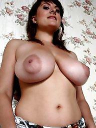 Areola, Bbw amateur, Big boob