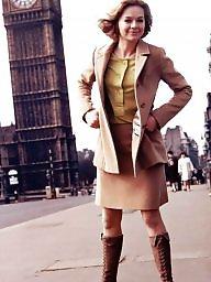 Vintage, British, British celebrity
