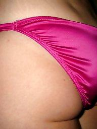 Satin, Fucking, Pink, Amateur lingerie