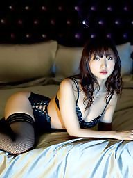 Japanese, Fishnet, Japanese stockings, Black stocking