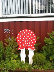 Stocking, Garden, Swedish, Funny