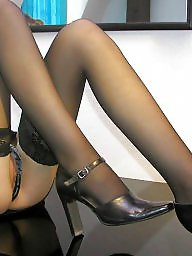 Legs, Leg, Legs stockings, Black stocking