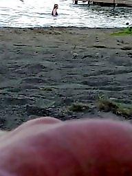 Cfnm, Public, Flashing, Beach, Public beach