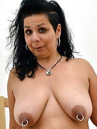 Piercing, Mature, Pierced, Amateur mature