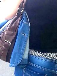 Jeans, Voyeur, Romanian, Hidden cam