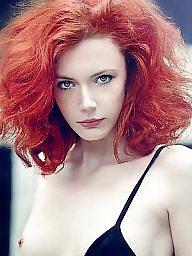Redhead, Sexy lady