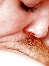 Redhead, Hairy lesbians