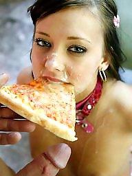Teen amateur, Eating