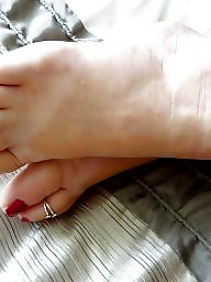 Mature feet, Toes