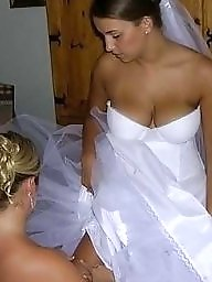 Panties, Bride, Brides, Upskirt ass, White panties, Married