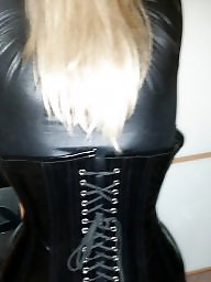 Pvc, Corset, Mature pvc, Boobs, Corsets, Mature toy
