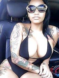 Tattoo, Ebony babe