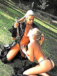 Lesbian, Suck, Sucking, Tit suck, Lesbian sucking tits
