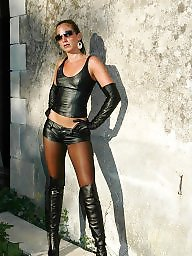 Latex, Boots, Leather, Pvc, Mature pvc, Mature boots