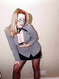 Uk milf, Uk mature, Mature blonde, Blonde mature, Mature stockings, Mature blond
