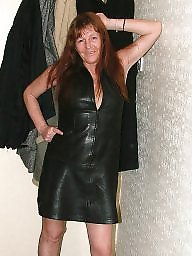 Mature, Leather, Pvc, Mature femdom, Prostitute, Mature leather
