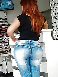 Jeans, Tight ass, Tight jeans