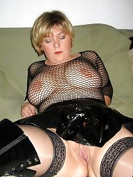 Latex, Mom, Leather, Moms, Mature latex, Mature milf