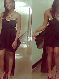 Teen, Black, Ebony, Teens, Dress, Babe