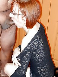 Mature blowjob, Dick, Suck, Mature redhead, Sucking, Mature suck