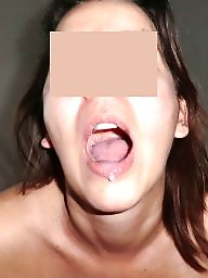 Balls, Suck, Facials, Cummed, Sucking, Milf facial