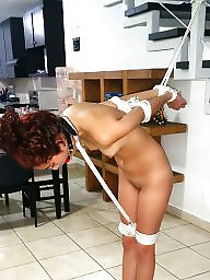 Tied, Bdsm mature, Girlfriend, Mature tied