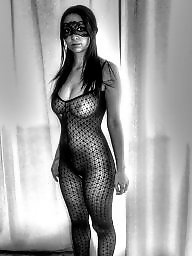 Black milf, Milf lingerie, Hair, Black hair