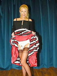 Vintage, Lady, Skirt, Vintage stockings, Upskirt stockings, Lady b