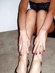 Milf stockings, Stocking feet