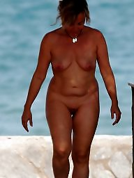 Mature beach, Lady, Beach mature