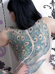 Tattoo, Nude, Tattooed, Asian ass