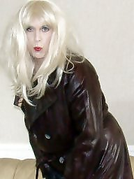 Boots, Pvc, Latex, Mature latex, Mature boots, Leather