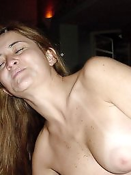 Exposed, Milf facial, Amateur facial, Milf amateur
